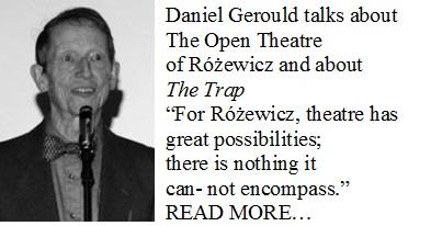 Daniel GerouldtalksabiutRozewicz