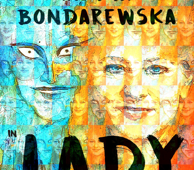 "Lady, an adaptation of Shakespeare's ""Macbeth"" by Andrzej Zurowski and Hanna Bondarewska  Painting by Dorota Krzymowska Graphic Design by Anna Klamczynska"